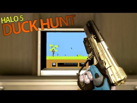 CLASSIC DUCK HUNT | Halo 5 Custom Game