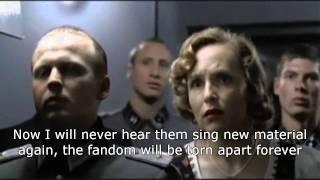 Hitler finds out JLS have split up.