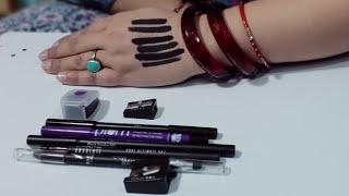 Top 5 Bridal Makeup kajal in india | intence black| waterproof| gel based| smudgeproof| longlasting|