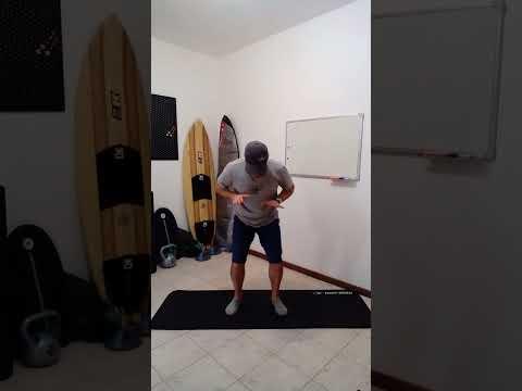 Aprender a Surfar I Treino Para Melhorar o Equilbrio no Surf v9 #shorts
