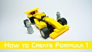 Lego System - How to Create Small Formula One