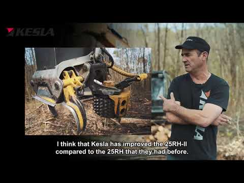 KESLA 25RH-II: Customer Herve Martinet SARL