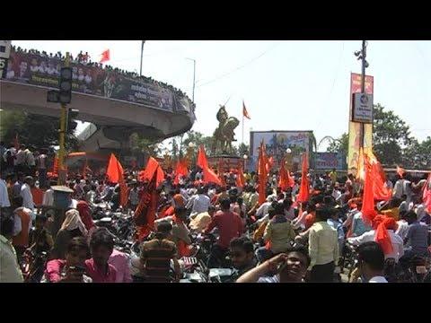 राजे पुन्हा जन्माला या....शिवाजी चौकात ऐतिहासिक गर्दी
