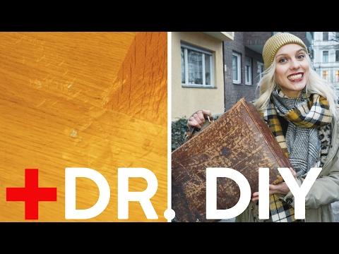 Erste Hilfe: Kratzer & Dellen im Parkett | DIY | Boden ausbessern
