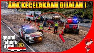 GTA V MOD INDONESIA (28) - ADA KECELAKAAN DI JALANAN !!