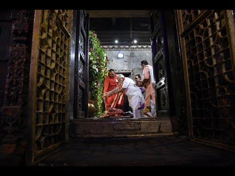 PM Modi Visits Durga Kund and Darshan at Durga Mata Temple in Varanasi