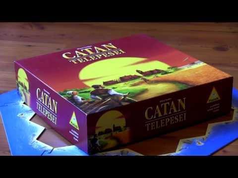 Catan telepesei rövid bemutató. - TársasFórum