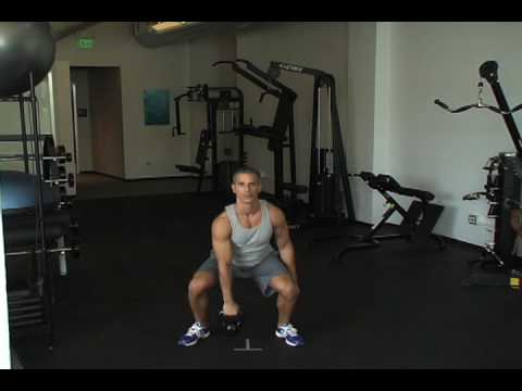 One-Arm Kettlebell Clean and Press