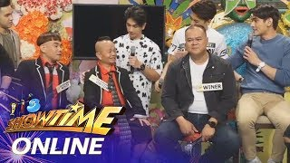 It's Showtime Online: Funny One's Winer Aguilar And Dos Korambos Hang Out With Hashtags