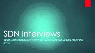 Tim Montgomery and Dr. Lisa Meeks SDN interview