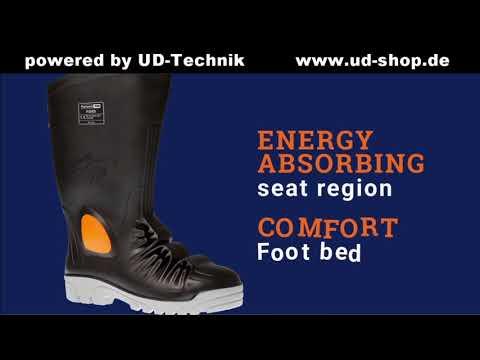 UD: Sicherheitsstiefel S5 mit Mittelfussschutz, schützt vor Gefahren in härtesten Umgebungen