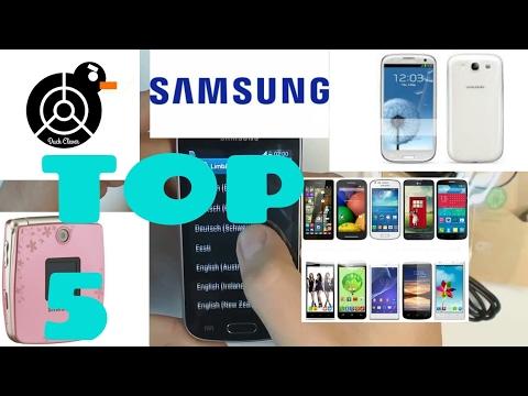 Top 5 peores teléfonos de Samsung 2017