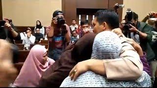 Bupati Ahmadi Divonis 3 Tahun Penjara, Istri dan Keluarga Menangis