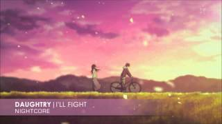 Nightcore - I'll Fight