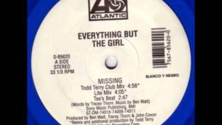 Missing (Todd Terry club mix) - Everything But The Girl 1996