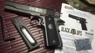 Black Ops  Full Metal 1911  CO2 BB Gun