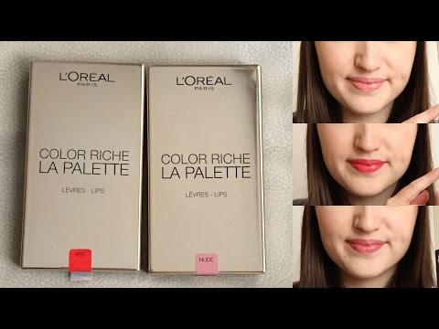 Color Riche La Palette Lip - Pink by L'Oreal #4