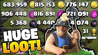 QUEEN WALK MINERS IS INSANE! - Free To Play TH10 - Clash of Clans