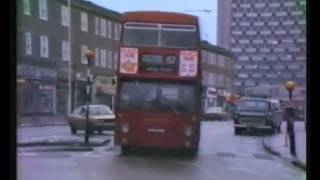 preview picture of video 'Buses at Morden Roundabout in 1981'