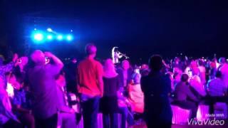 KennyG Show Prambanan Jazz Int Music Fest 2015