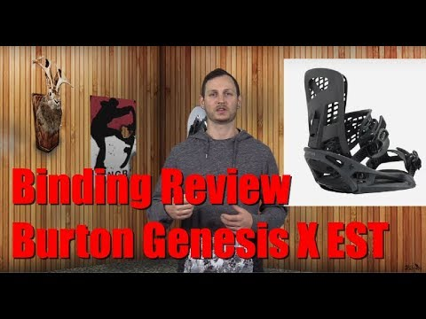The 2019 Burton Genesis X EST Snowboard Binding Review