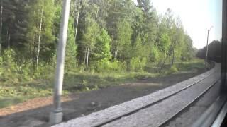 preview picture of video 'Odcinek Skarżysko-Kamienna - Suchedniów z okna pociągu IR Bolko'
