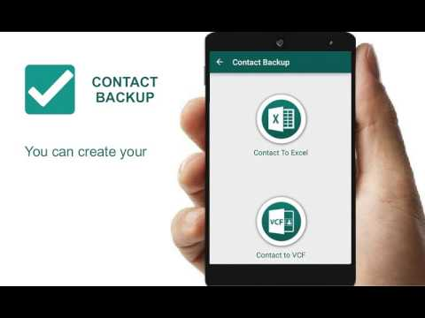 Video of Contact Backup