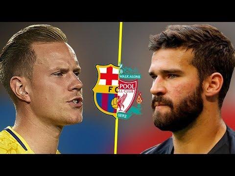 Alisson Becker VS Ter Stegen - Who Is The Best Goalkeeper? - Amazing Saves - 2018
