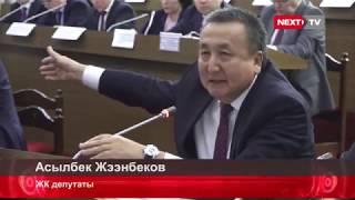Депутат Асылбек Жээнбеков: Аткаруу бийлигин сынга алды