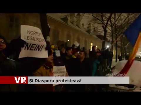 Și Diaspora protestează