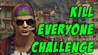 Sapienza Kill Everyone Challenge! - Hitman 2016