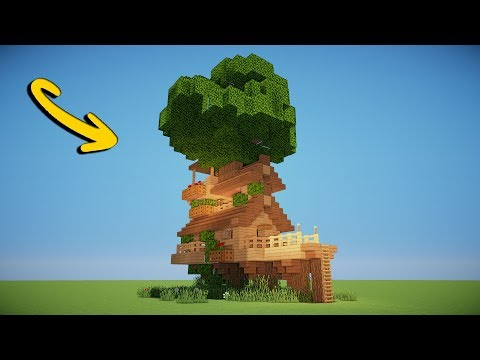 Tremendous Amazing Tree House Minecraft Tutorial Minecraft Project Interior Design Ideas Pimpapslepicentreinfo