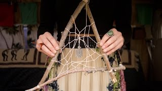 DIY Make A Dreamcatcher With Tree Branches