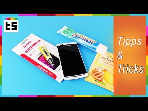 Kratzer vom Smartphone-Display entfernen – Tipps und Tricks