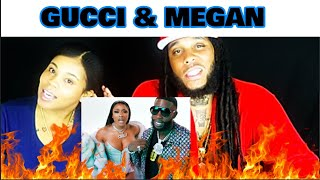 Gucci Mane - Big Booty feat. Megan Thee Stallion [Official Video] Reaction!