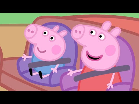 Peppa Pig Episodes - Car Compilation
