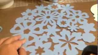 Project Share - Table Numbers and Doilies