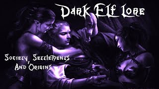 Total War: Warhammer Dark Elf Lore Society, Settlements, Religion, And Origin