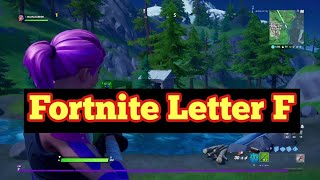 Fortnite - Search The Hidden F In The New World Loading Screen location - F-O-R-T-N-I-T-E Letters