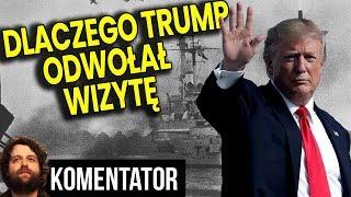 Dlaczego NAPRAWDĘ Trump Odwołał Wizytę w Polsce – Huragan to PRETEKST – Analiza Komentator Polityka