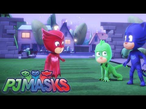 PJ Masks-Pyjamahelden - Clip #1: Die verschwundene Achterbahn | Disney Junior