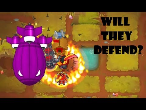 Bloons TD 6 - deflation Mode v6 0/6 1 round 100 beaten with