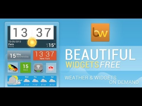 Vídeo do Beautiful Widgets Pro
