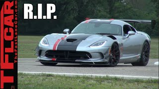 R.I.P. 2017 Dodge Viper: So long, farewell, auf wiedersehen, good night! by The Fast Lane Car