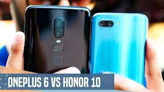 OnePlus 6 vs Honor 10, ¿Cuál comprar?