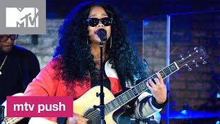 Grammy Award Winner H.E.R. Performs  'As I Am', 'Carried Away' & 'Fate' (Live) | MTV Push