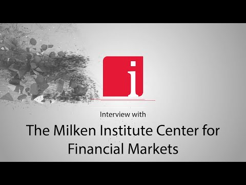 The Milken Institute's Dr. Michael Piwowar's #1 piece  ... Thumbnail