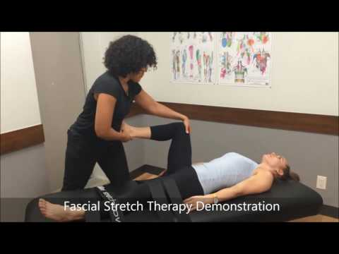 Fascial Stretch Therapy Demonstration - YouTube