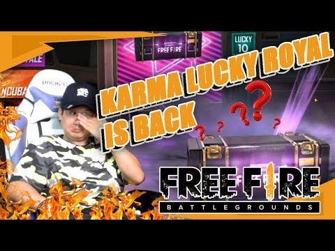 KARMA NEW LUCK ROYAL 2019 IS BACK !!! - FREE FIRE INDONESIA