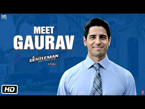 Download Meet Gaurav | A GENTLEMAN - Sundar, Susheel, Risky | Sidharth | Jacqueline | Raj & DK HD Video